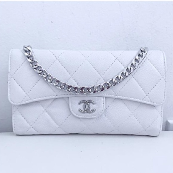 8197e3a58b57 CHANEL Bags | Classic Flap Wallet With Chain Added | Poshmark